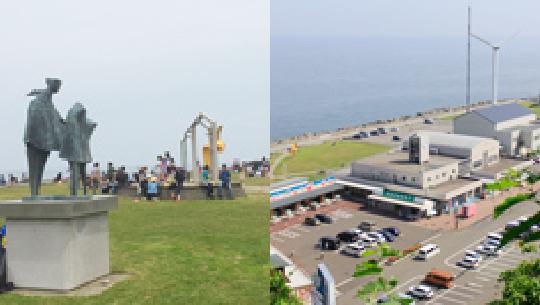 各漁港に近い加工会社でボイル